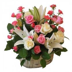 Kosz Kwiatowy 25